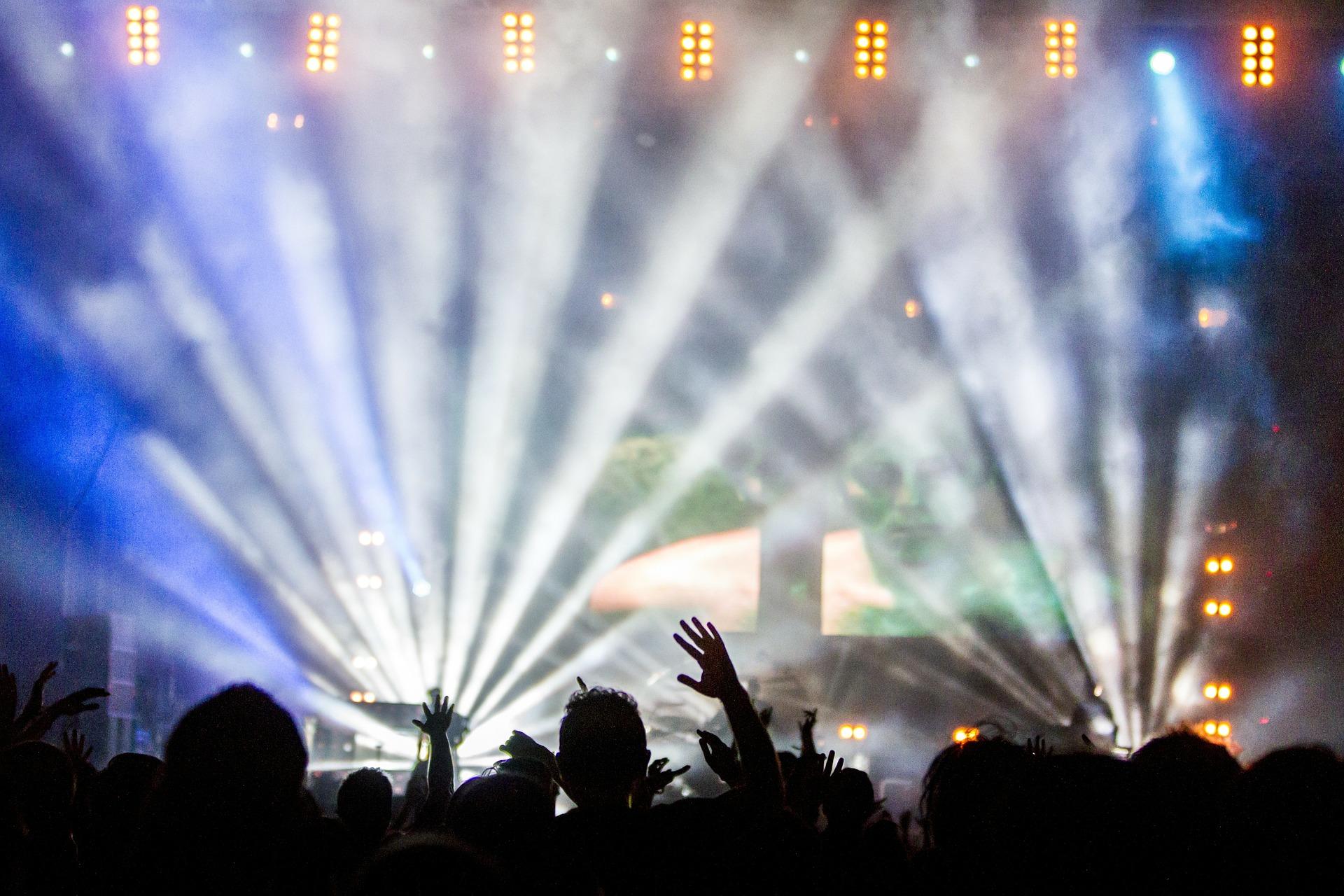 Bühne Auftritt Applaus