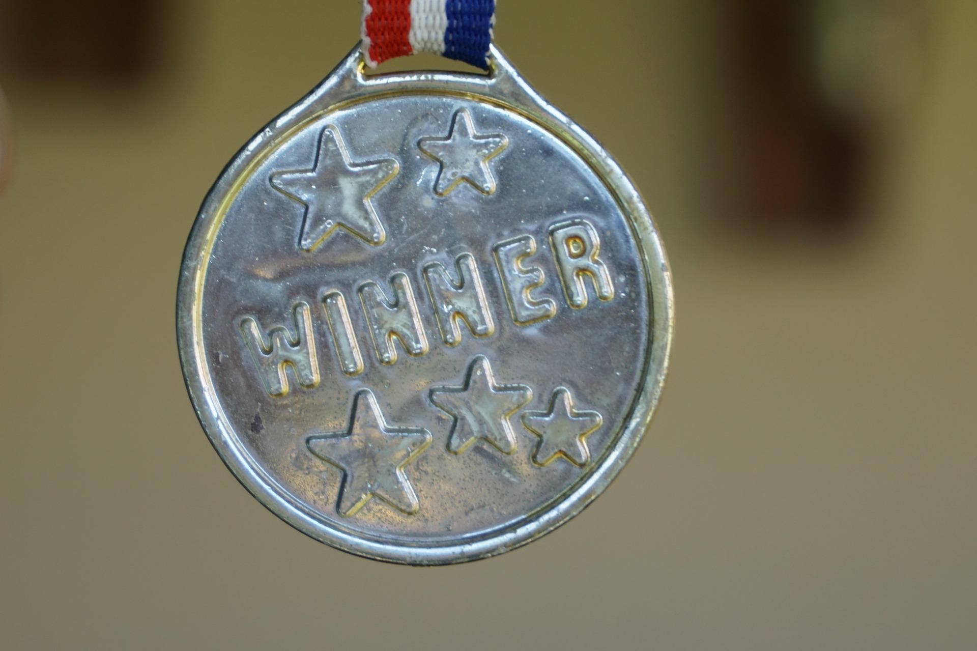 Medaille als Auszeichnung
